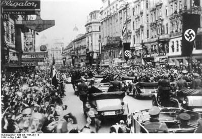 Anschluss Österreich, 1938