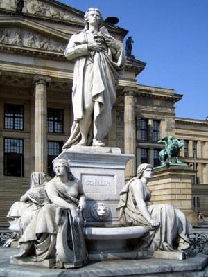 Monument of Friedrich Schiller, Gendarmenmarkt, Berlin
