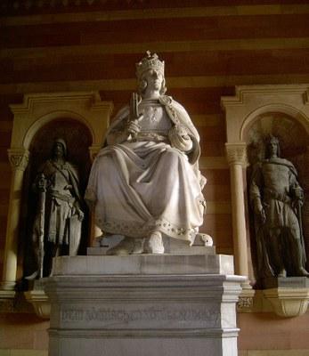 Monument of Rudolf von Habsburg at Speyer Cathedral