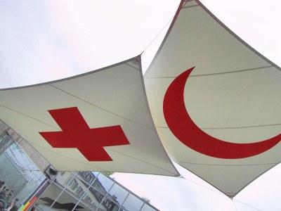 Logos der Internationalen Rotkreuz- und Rothalbmond-Bewegung