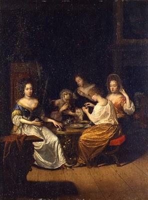 Teegesellschaft der Henriette Catharina von Oranien