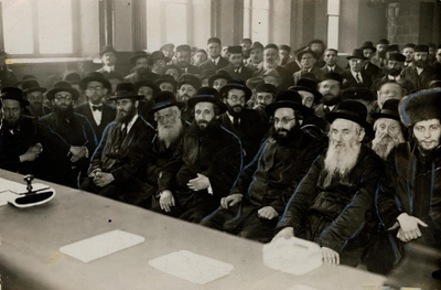 Parteitag der Agudas Yisroel in Warschau 1930 IMG
