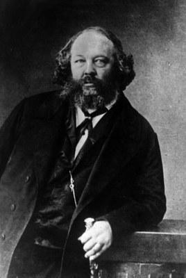 Michail Bakunin (1814–1876), 1864, Schwarz-weiß-Photographie, Photograph: Ege, Bildquelle: Archiv der sozialen Demokratie der Friedrich-Ebert-Stiftung Bonn, Signatur 6/FOTA020187.