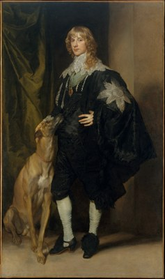 Anthony van Dyck (1599–1641): James Stuart (1612–1655), Duke of Richmond and Lennox, Öl auf Leinwand, 215.9 x 127.6 cm, ca. 1633–1635; Bildquelle: Metropolitan Museum of Art, Marquand Collection, Accession Number: 89.15.16, http://www.metmuseum.org/collection/the-collection-online/search/436252, Open Access for Scholarly Content (OASC).