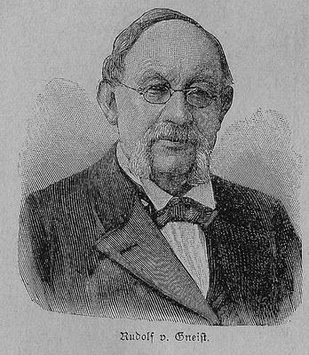 Scan von Ulrich Goerdten, aus Jahrbuch der Berliner Morgenzeitung, Kalender 1897, Bildquelle: http://de.wikipedia.org/w/index.php?title=Datei:Heinrich_Rudolf_Hermann_Friedrich_von_Gneist.jpg&filetimestamp=20090926150501