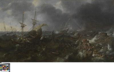 Andries van Eertvelt (1590–1652), The Battle of Lepanto, ca. 17. Jahrhundert