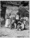Fünf Generationen von Sklaven in Beaufort, South Carolina, 1862