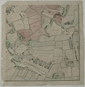 J. Thornton, A plan of Manchester and Salford, drawn from an actual survey by William Green. c.1794: Ardwick Green to Higher Ardwick. Ancoats Lane, Ancoats Hall, River Medlock; Kupferstich (mit Hervorhebungen der Redaktion), 1794, ; Bildquelle: Manchester Library and Information Service, Green MS map, http://www.spinningtheweb.org.uk/web/objects/common/webmedia.php?irn=5000218.