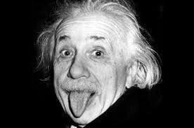 Arthur Sasse, Einstein with his Tongue Out, Schwarz-Weiß-Photographie, 1951; Bildquelle: Mit freundlicher Genehmigung der Albert Einstein Archives. http://www.alberteinstein.info/