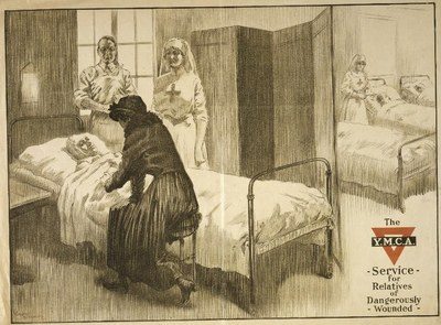 The Y.M.C.A. Service for Relatives of Dangerously Wounded IMG