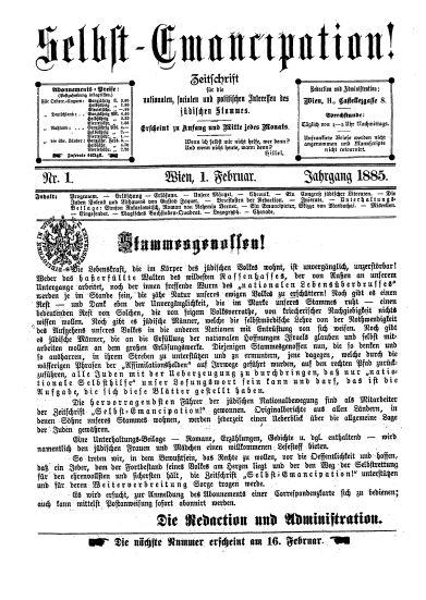 """Zeitschrift """"Selbst-Emancipation!"""" IMG"""